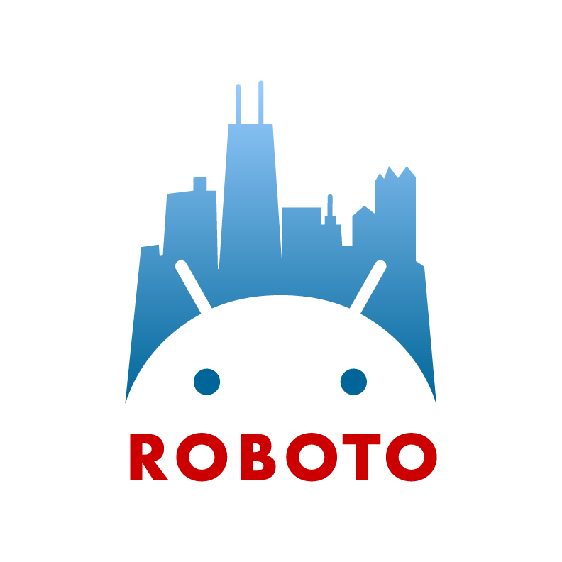 Logo Chicago Roboto 2020